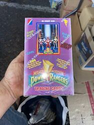 5 Boxes Power Rangers Trading Cards Sealed Series 1 36 Count Box