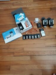 Ring Wireless Doorbell 2 , Two Camera Outdoors , Chime And 6 Batteries Etc