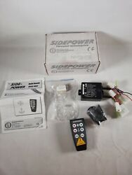 Sidepower 8930 / 8931 Marine Boat Bow Thruster And Windlass Remote W/ Receiver