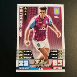 Topps Match Attax Premier League 2014 2015 Jack Grealish Rookie Card