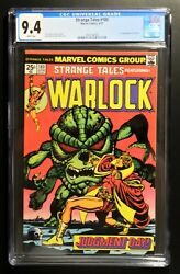 Strange Tales 180 Cgc 9.4 - White Pages 1st Appearance Of Gamora