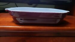 Emile Henry Dish Made In France 799 96.09 5x7 Purple Eggplant
