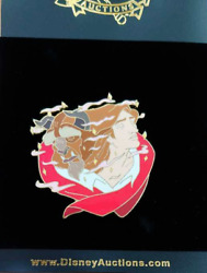 Rare Disney Auctions Beauty And And The Beast Transformation Le 100 Pin