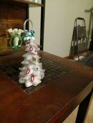 Mosser Ohio State white tree. Beautiful piece for OSU fans. Excellent cond.