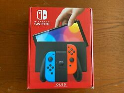 Nintendo Switch Oled Heg-001 Console - Neon Color New In Hand Ready To Ship