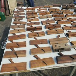 Vintage Wood Working Planes Collection Antique Carpentry Tools