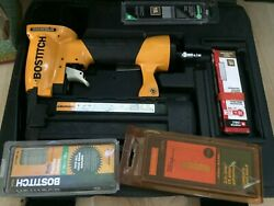 Bostitch Bt13xx Nailgun - Only Used Once Includes Many Extras + Case