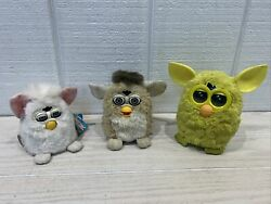 Vintage Furby Motion Activation Toy '98 '99 And '12 Tiger Electronics / Hasbro