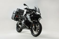 Sw-motech Adventure - Set Protection Black For Bmw R1200gs Lc 1g12 K50 16-18
