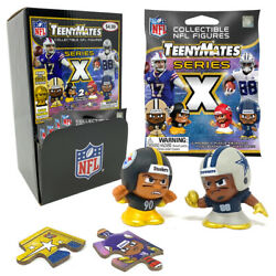 Nfl Teenymates Series 10 X 32 Packages With Gravity Fill Display. New 2021