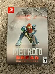 Metroid Dread Special Edition Nintendo Switch 2021 In Hand Ships Priority Mail