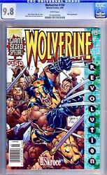 Wolverine 150 Newsstand Edition Cgc 9.8 Wp Rare In Grade Volume 1 Giant-size