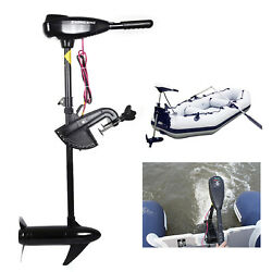 46lbs Heavy Duty Electric Outboard Motor Fishing Boat Brush Motor Engine 12v Usa
