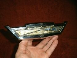 1963 Ford Galaxie 500 Xl Original Front Grille Hood Release Handle Latch Nice