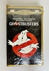Vhs Ghostbusters 1984 Movie - Factory Sealed Gold Clam Shell Columbia Pictures