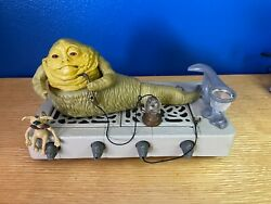 Kenner Star Wars Vintage Jabba The Hutt With Throne And Salacious Crumb