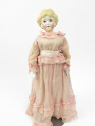 Antique 1860's Highland Mary Porcelain Head/shoulders Arms/legs 19 Doll