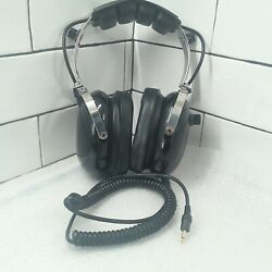 Avcomm Racing Products Headset Headphones Pn H1000 Like New Condition