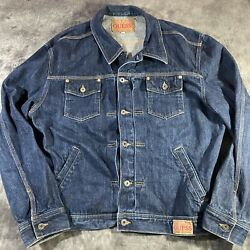 Vintage Guess Jeans Denim Jacket M9424827 Made In Usa Mens Xxl
