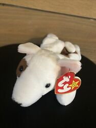 TY Beanie Baby Butch The Bull Terrier Dog RARE See tags