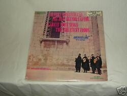 Sealed Americo Lima A Great Voice Sings...fados Lp