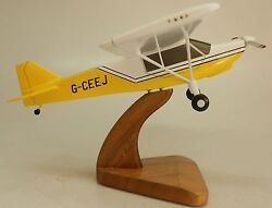 S-7 Rans Courier S7 Private Airplane Desk Wood Model Big New
