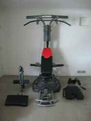 Bowflex Ultimate 2 Machine Home Gym 310 Ab Attachment As277 Fitness Exercise