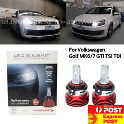 JW LED H7 Volkswagen Low Beam Headlight Kit for Golf MK 6 7 VI VII GTI TSI TDI