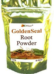 Golden Seal Root Powder Anti Inflammatory Gmo Free 120g 4 Ounces 240 Servings