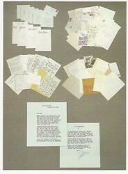 Joan Crawford Correspondence 38 Signed Letters