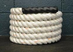 100 Ft Poly Battle Rope Crossfit Strength Training 2.0