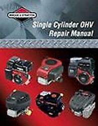 Briggs And Stratton Engine Ohv Repair Manual 276781 New