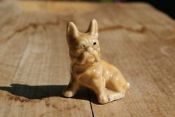 VINTAGE...ESTATE....CERAMIC...BULL...DOG....FIGURINE