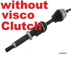 Without Visco New Front Right Cv Axle.lifetime Warranty