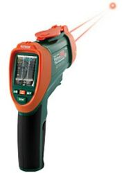 Vir50 Extech Digital Infrared Video Thermometer 2.2 Lcd And Built-in Camera New
