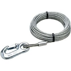 3/16 Inch X 25 Ft Boat Trailer Winch Cable - 4,000 Lbs Tensile Strength