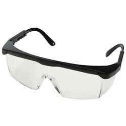 One Size Fits All Clear High Impact Polycarbonate Safety Glasses