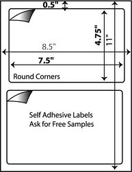 800 Self Adhesive Shipping Labels For Ebay Usps Ups 7 X 4.5 Great For 000 Wh