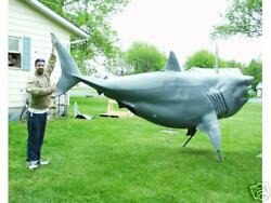 Life Size Great White Shark - Taxidermy - Blank