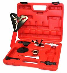 DELUXUE AIR CONDITIONING COMPRESSOR CLUTCH HUB AC SERVICE TOOL PLATE REMOVER KIT