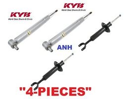 4-pieces Kyb Excel-g Shocks/struts 2-front And 2-rear A4front Wheel Drive Only