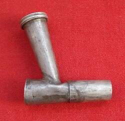 Vintage Antique Collectible Old Silver Cigarette Cigar Pipe India