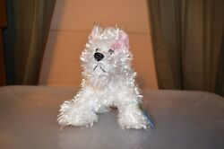 Webkinz White Terrier With New Attached Unopened Tag
