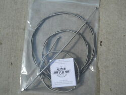 And03957 Chevy Passenger Car Deluxe Heater Cable Set Stainless Steel