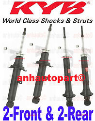 Set Of 4 Kyb Excel-g Shocks/struts 2-front And 2-rear Lexus Is300