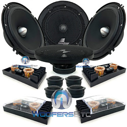 2 Sets Precision Power Sc.65 6.5 Component Speakers By Makers Of Soundstream