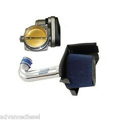 05-12 Dodge Charger And Challenger Bbk Chrome Cold Air Intake And 90mm Throttle Body