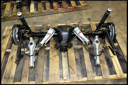 Solid Rear Axle Conversion For 99 01 03 04 Mustang Cobra 3.73 31 Moser Axles