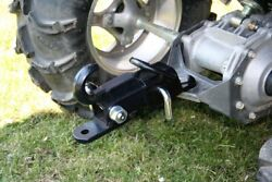 Off Road Atv Receiver Trailer Hitch 2 3 Way Ball Tow Hook Utility Lawn Tractor