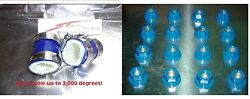 Banshee Lug Nuts And Exhaust Pipe Clamps Fmf,dg, Factory Blue Dress Up Kit